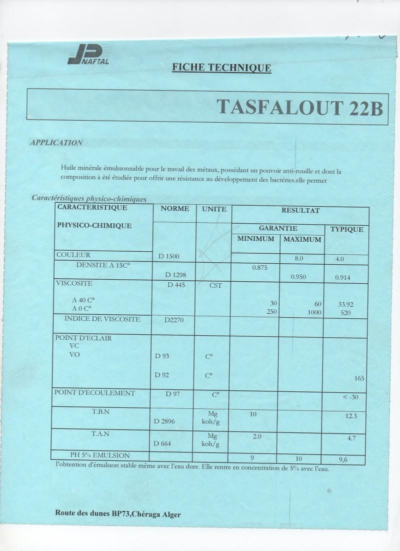 NAFTAL TASFALOUT B22 (BIDON 20 L)