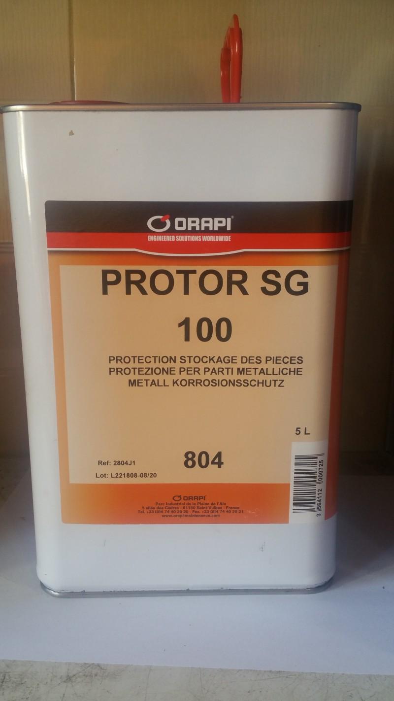 ORAPI 791 SG 100 PROTECTION ANTICORROSION PROTECTION -CIREUSE INCOLORE (BIDON 5L)