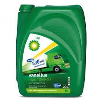 BP Vanellus Max Drain 10W-40 Lubrifiant moteur Diesel hautes performances, vidange BIDON 5Ls étendues