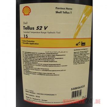 SHELL TELLUS S2 VX 15 Fût 209L