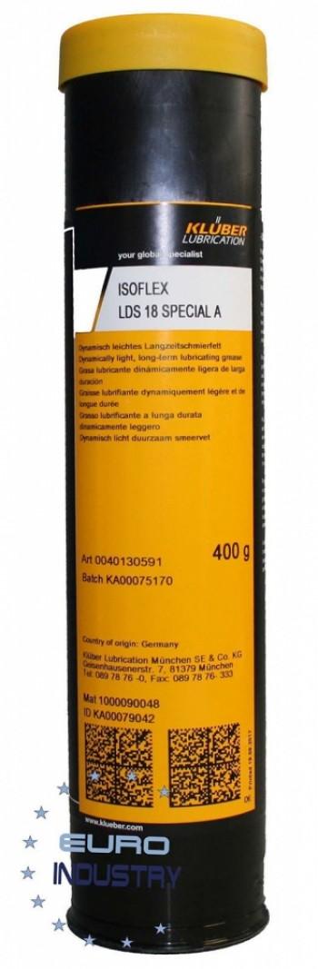 Klüber ISOFLEX LDS 18 Special A Graisse lubrifiante long terme 400 GR