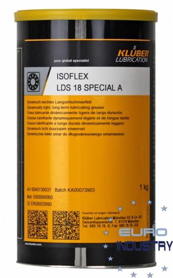 Klüber ISOFLEX LDS 18 Special A Graisse lubrifiante long terme(BOITE 1KG)