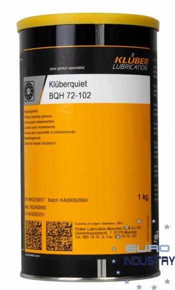 Klüberquiet BQH 72-102 Graisse longue durée pour roulements 1kg boîte